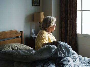 How to prevent an elderly from falling out of bed