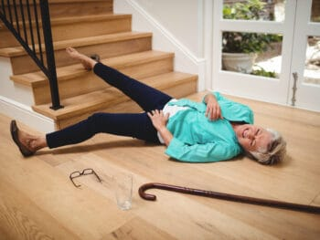 how to prevent elderly from falling on stairs