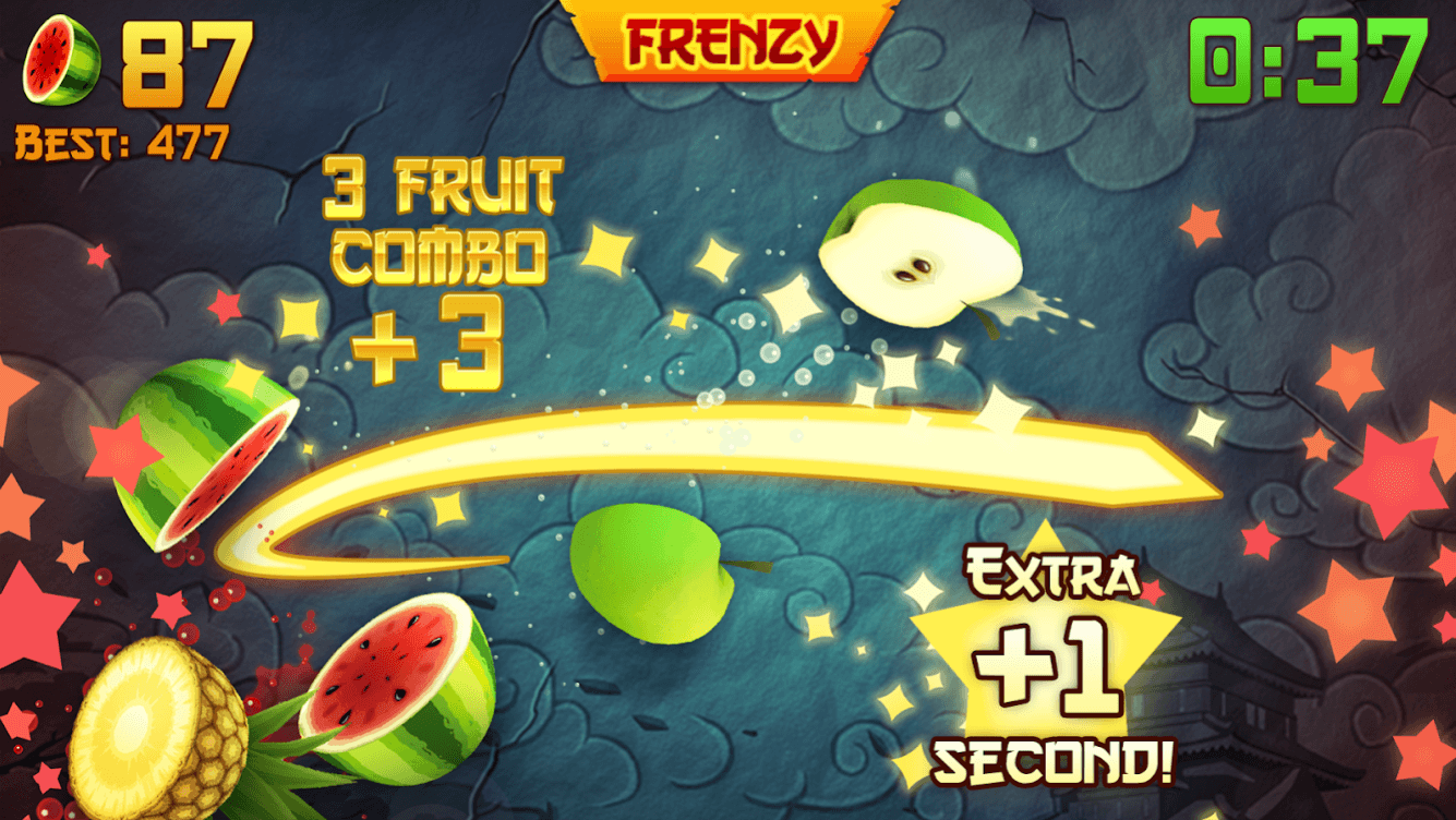 Fruit Ninja: You are not killing Bill, but fruits in this one!