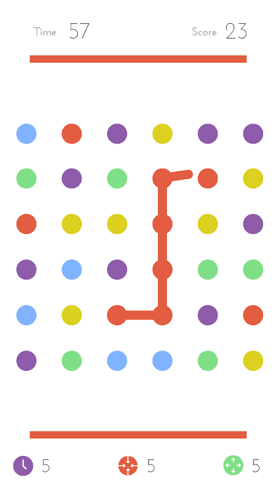 Dots: Fun in simplicity! One of our favorite android games for elderlies