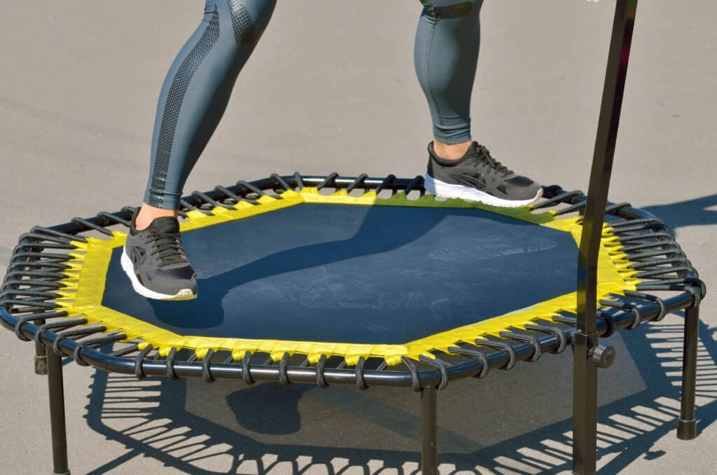 mini trampoline exercises for seniors