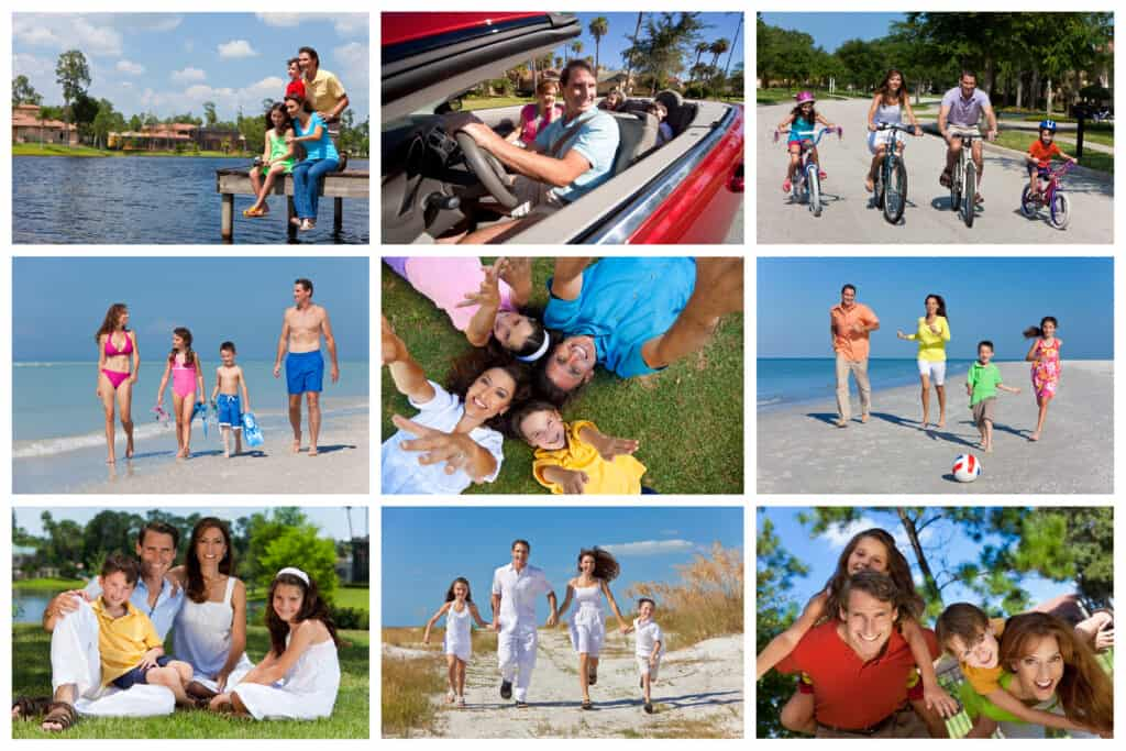 best colors to wear for family photos outdoors